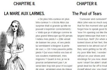 2017-03-11 06_02_30-Free bilingual book French _ English, Alice's Adventures in Wonderland,    II. L